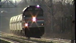 Amtrak in Upstate NY 2000 - Part 4