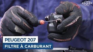 Changer le Filtre à Carburant - Peugeot 207