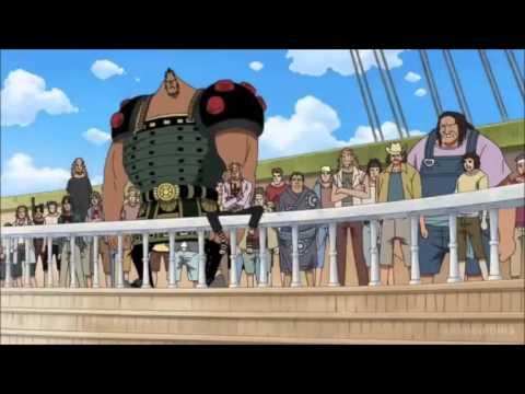 【LOB】シャンクス 白ひげの船へ乗り込み