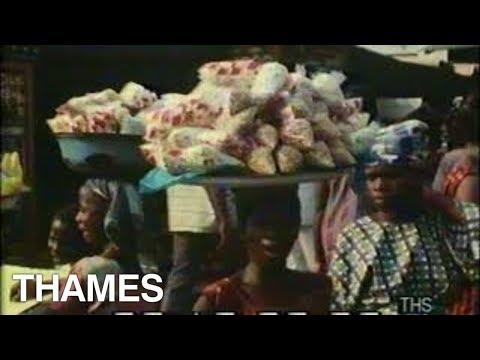Lagos street scenes | Nigeria | This Week | 1970