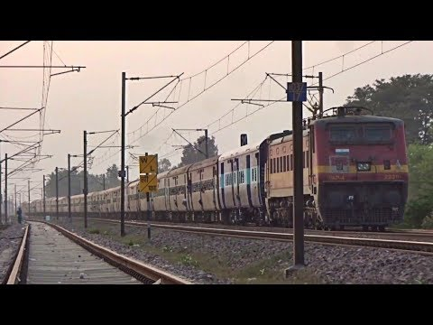 12488 Anand Vihar Terminal - Jogbani Seemanchal Express Crossing Bhaupur (Indian Railways)
