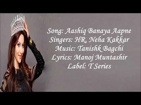 Aashiq banaya aapne new full song mp3 download