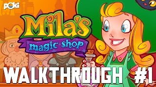 Sell Magic! Mila's Magic Shop Walkthrough Episode 01