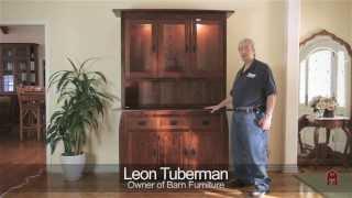 "Barn Furniture - Aspen 60"" China Available In Cherry, Maple, Quarter Sawn White Oak"