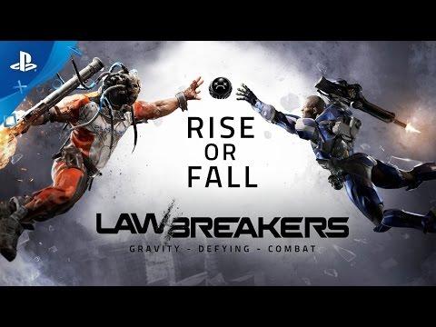 LawBreakers - Rise or Fall   PS4