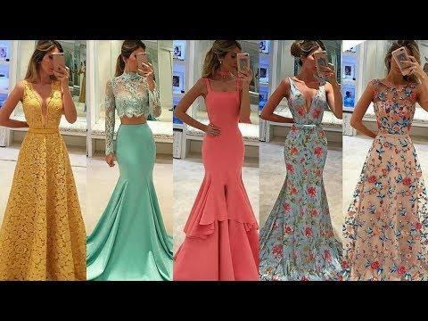 Vestidos Largos De Fiesta Elegantes Ideas De Invitada De