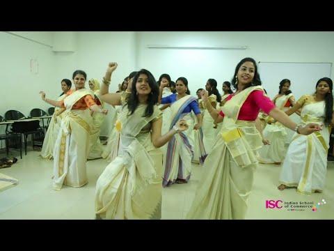 Entammede Jimikki kammal Onam Celebration ISC Indian School of Commerce Students