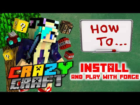 Full download how to play crazy craft 3 0 with forge not for Crazy craft free download