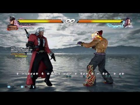 Tekken 7 Kazuya Ch Df2 Ewgf Youtube