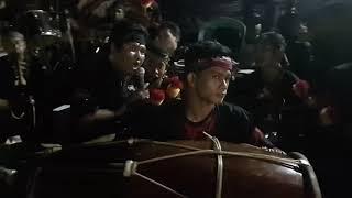 Tarian Jathil Gembong Kyai Bulak Lakarsantri dalam acara sedekah bumi RW.04 Lakarsatri