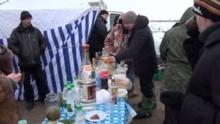 Соревнования по зимней ловле рыбы. Темников, 2013 год.