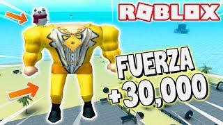 ROBLOX'S Mas *STRONG* RETURNS!!! Stärke 💪😱 +30K