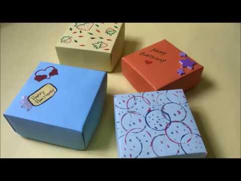 Gift box/Jewelry box with hard paper