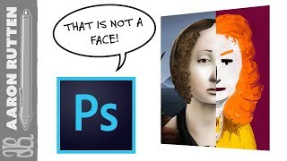 Photoshop Face Aware Liquify Face Detection Limits
