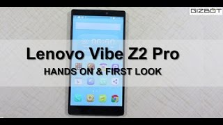 Lenovo Vibe Z2 Pro HANDS ON & FIRST LOOK