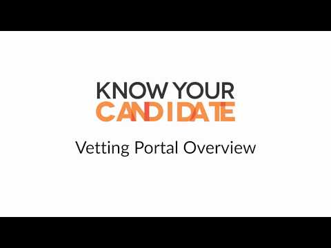 Employment screening process | Know Your Candidate