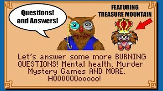 Chatty Q&A (While Playing Treasure Mountain!) - PushingUpRoses