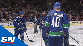 Tyler Toffoli Assists On J.t. Miller Goal For First Point With Canucks