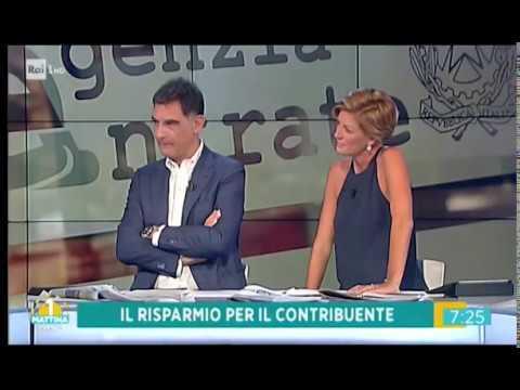 Valentina Bisti e Tiberio timperi con Gianluca Timpone parlano di rottamazione