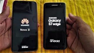 Huawei Nova 3i vs Samsung Galaxy S7 Edge - Speed test - (FHD)