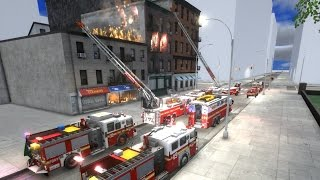 EmergeNYC Gameplay Day 1 | Responding To Our First Working Structure Fire As A FDNY Firefighter