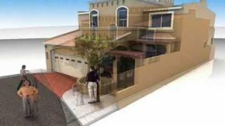 Repeat youtube video Planos de Casas Modelo San Laureano #132 Arquimex Planos de Casas