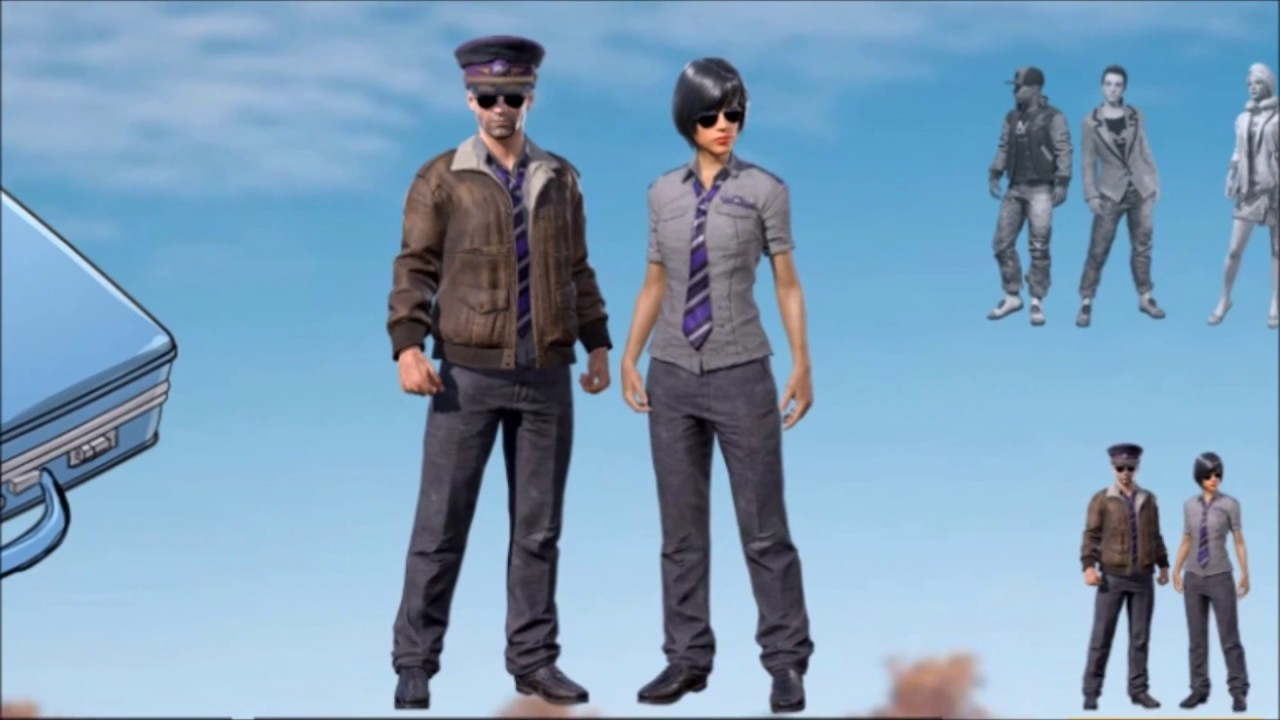PUBG - Twitch Prime skins PILOT CRATE available NOW!