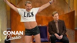 "Conan Confronts Andy On ""Rolonda"" - ""Late Night With Conan O'Brien"""