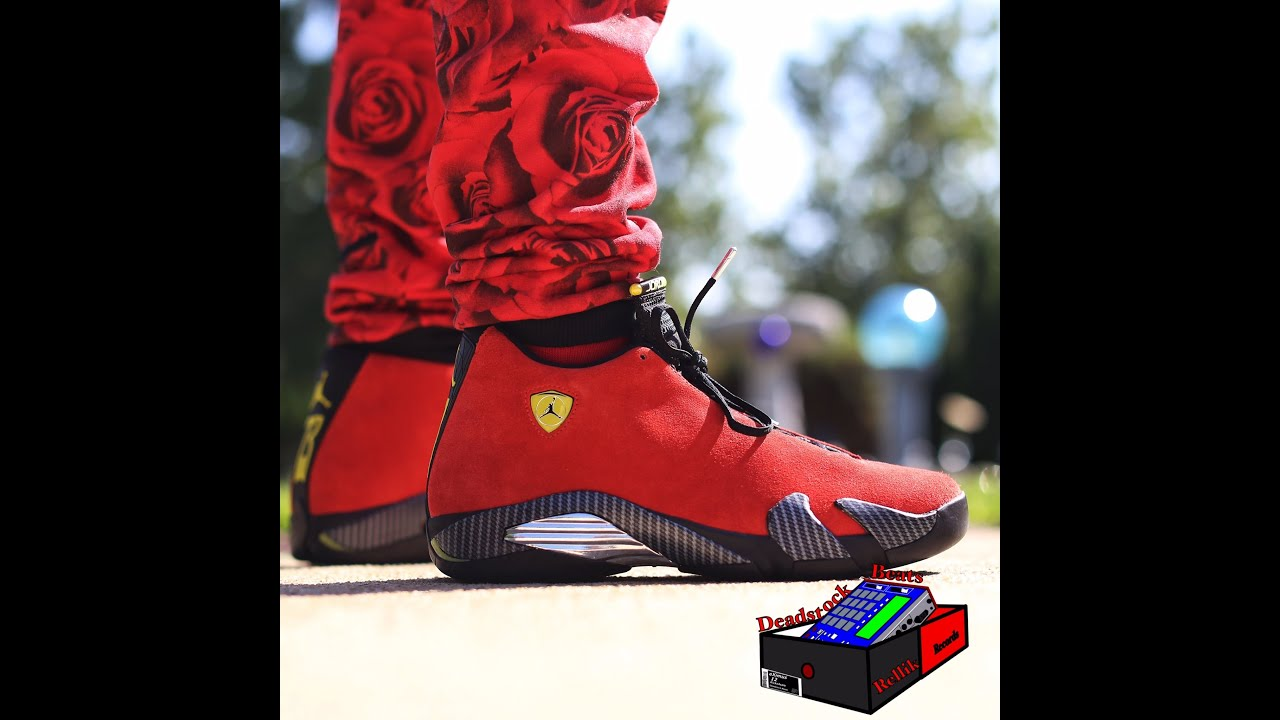 big sale bf764 2139a ... netherlands jordan 14 xiv ferrari on feet eximus beat hd quality youtube  b8639 4e616