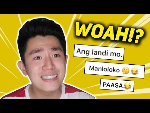 Reading People's Assumptions About Me (Medyo Intense)