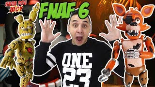 Папа Роб играет в Five Nights at Freddy s 6 Обзор Freddy Fazbear s Pizzeria Simulator