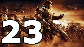 Gears Of War 2 Walkthrough Part 23 - No Commentary Playthrough (Xbox 360)