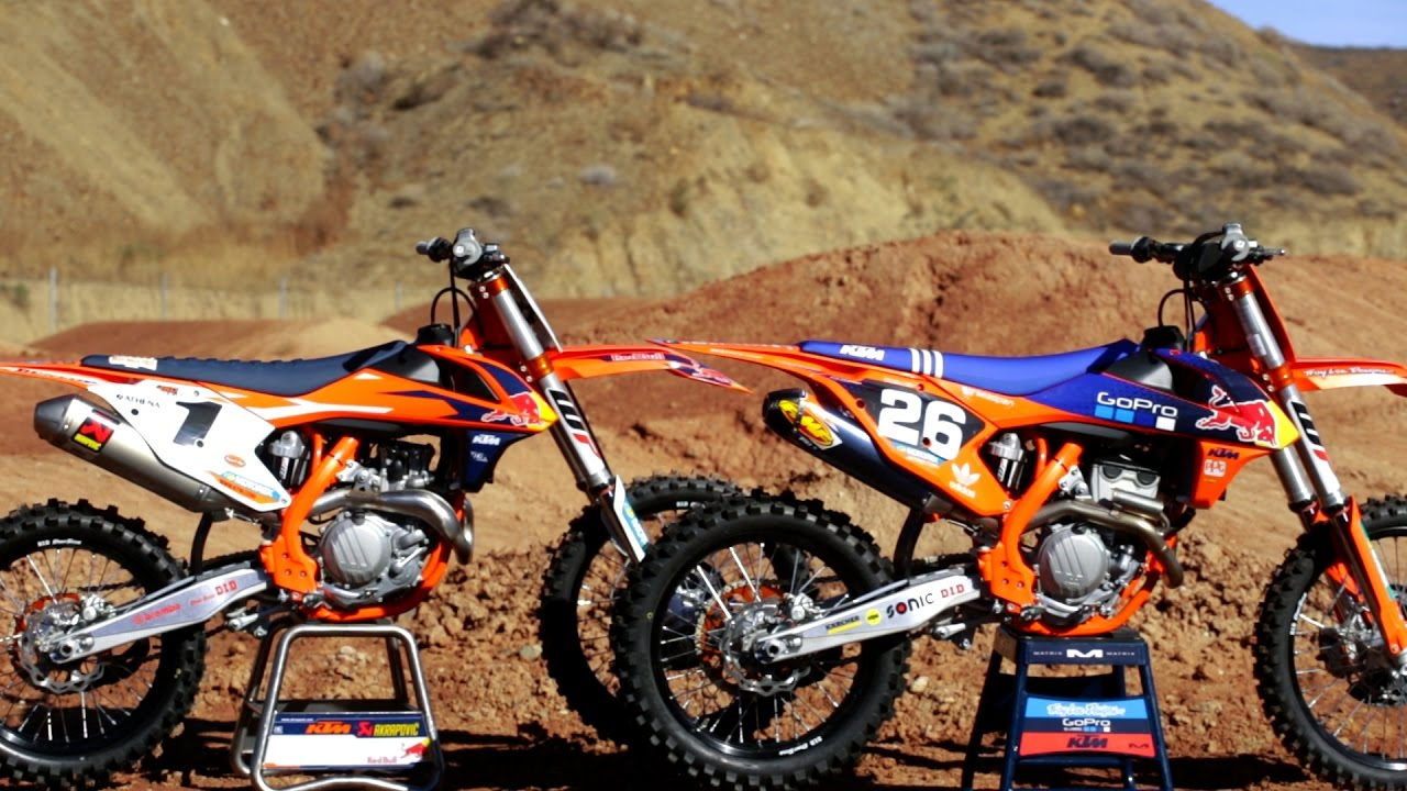 2018 suzuki motocross. interesting suzuki 2018 ktm 450250 sxf  2017 factory editions  dirt bike magazine  youtube for suzuki motocross m