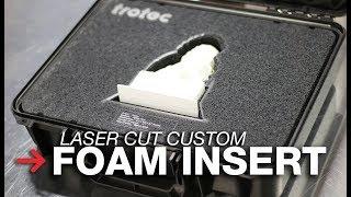 DIY Custom Foam Insert | Foam Storage Insert | Laser Cut Foam