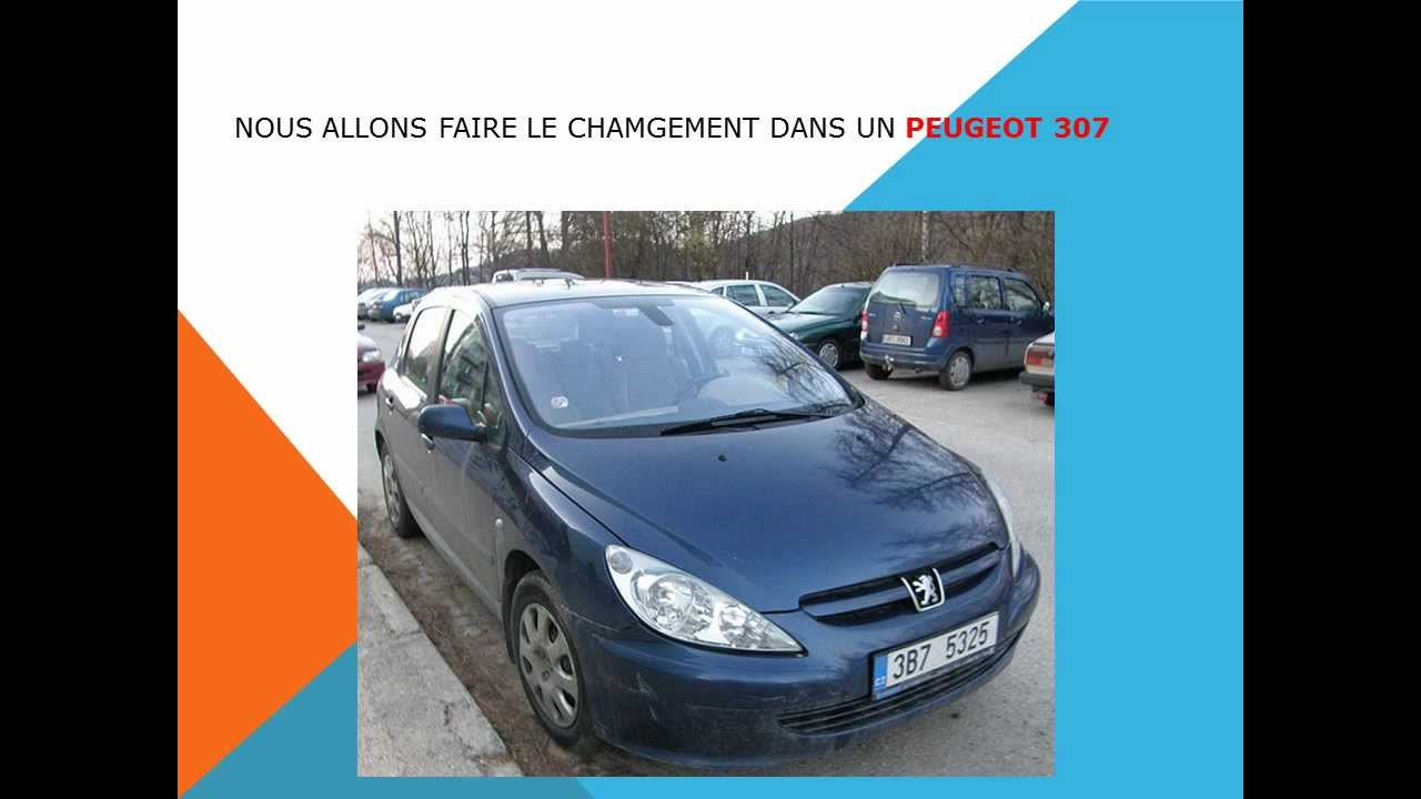 comment changer le filtre d 39 habitacle filtre anti pollen du peugeot 307 youtube