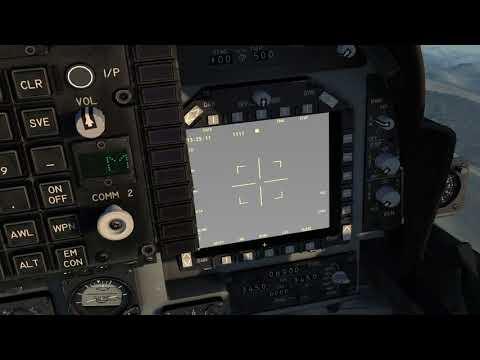 DCS AV8B How To Slew The (TGP, DMT, MAV)