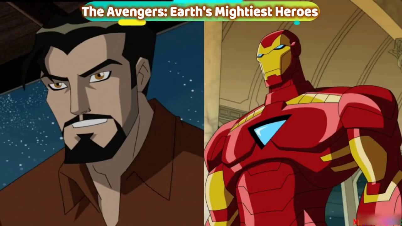 Tony Stark Homem De Ferro Evolucao 1966 2017 Youtube