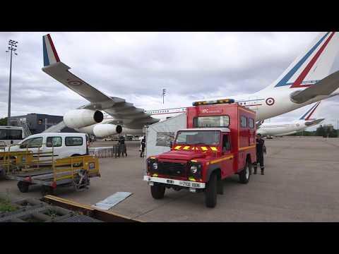 RÉSILIENCE : Lexpertise des équipes NRBC au profit de la désinfection des aéronefs