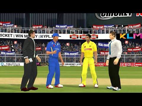 20th April IPL 11 Chennai Super Kings Vs Rajasthan Royals Real cricket 2018 mobile Gameplay