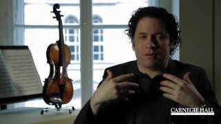 Gustavo Dudamel on Being a Conductor