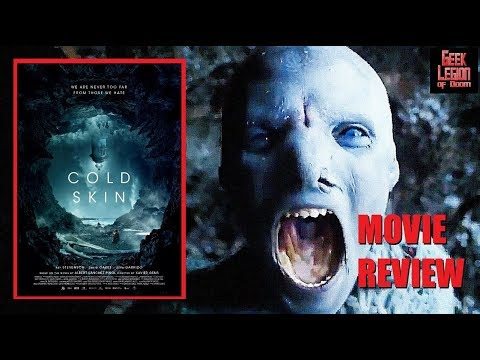 COLD SKIN ( 2017 Ray Stevenson ) aka La piel fría . Creature Feature Horror Action Movie Review