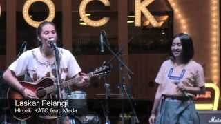 Video Laskar Pelangi by Hiroaki KATO feat. Meda (JAPAN FESTIVAL 2014) download MP3, 3GP, MP4, WEBM, AVI, FLV Oktober 2017