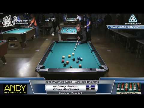 Johnny Archer vs Chris McDaniel - 2018 Wyoming Open