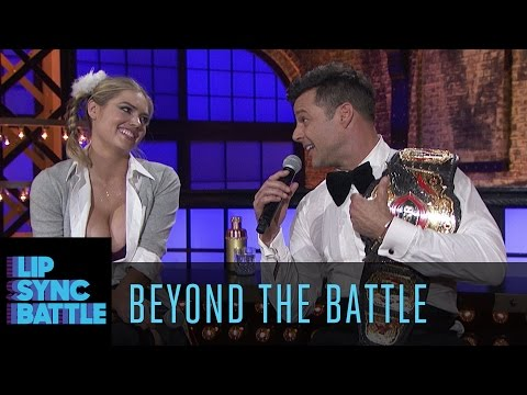 Beyond the Battle with Ricky Martin and Kate Upton | Lip Sync Battle