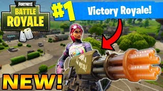 FORTNITE NEW MINI-GUN WAS SUPPOSED TO BE RELEASED TONIGHT :(  but got postponed
