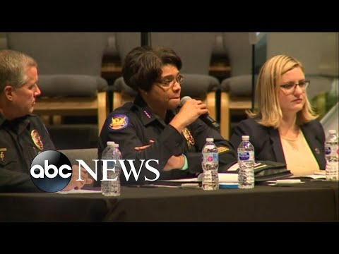 Police, mayor confronted
