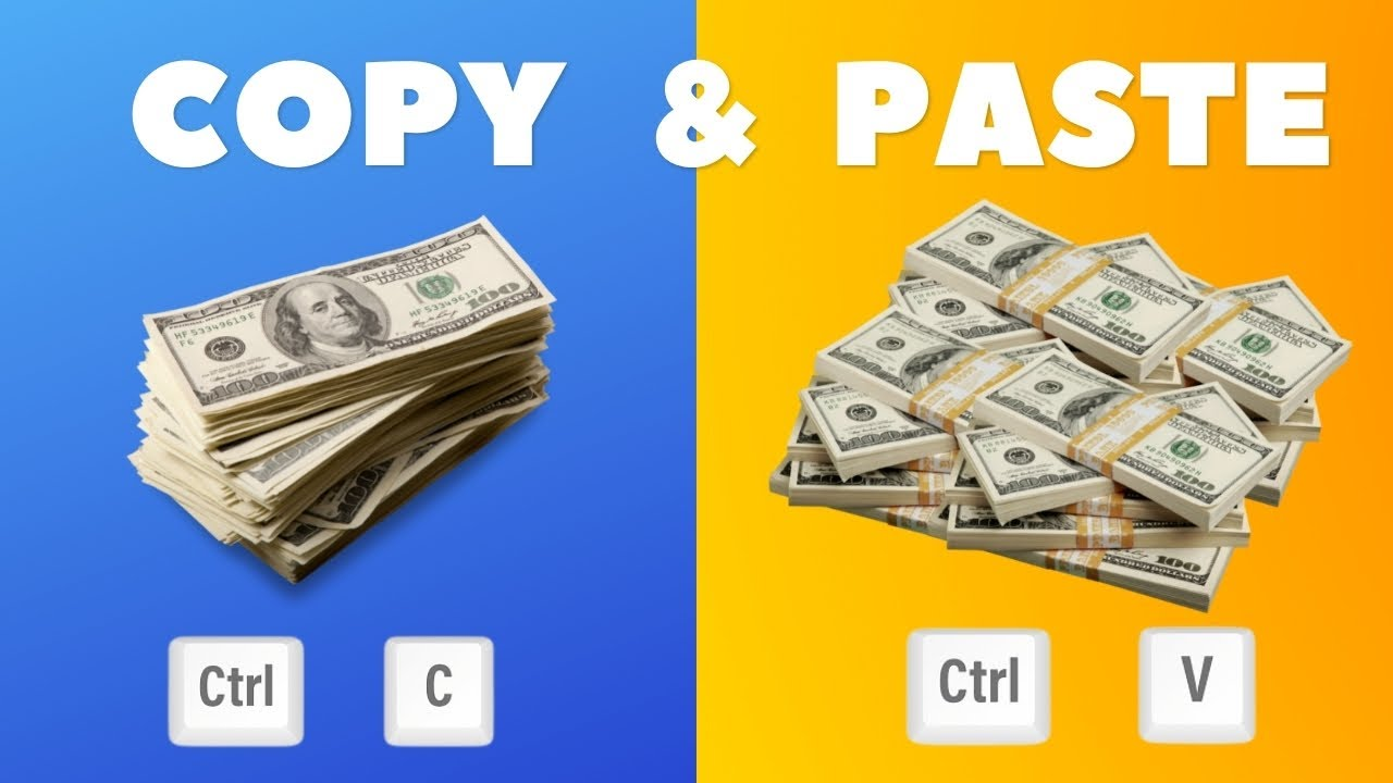 Earn $1000 By Copy Pasting - Make Money Online with Copy & Paste