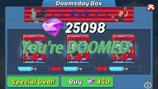 25K Gems on the Doomsday box Animation Throwdown
