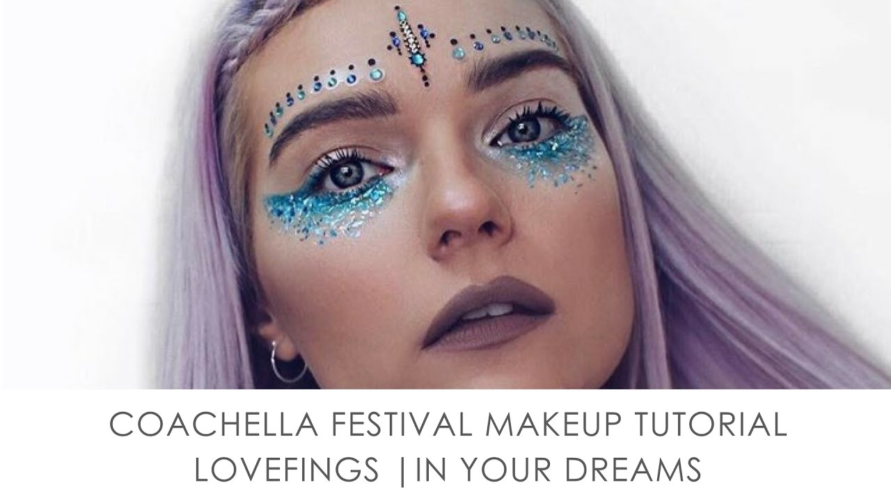 Jewled Makeup Face Paint