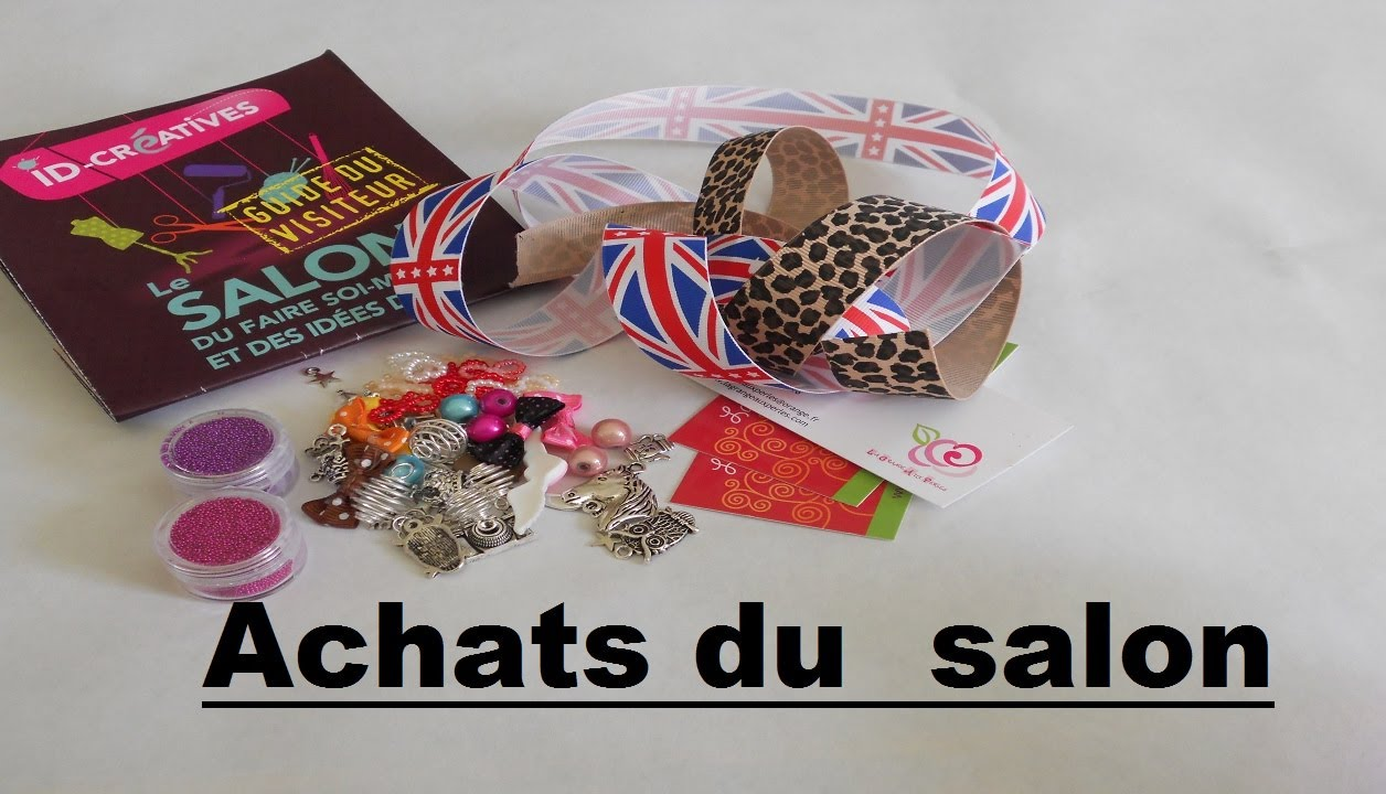 Achats au salon du faire soi m me et des id es d co for Idee deco salon 15m2